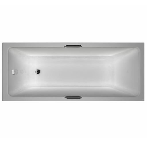 CLEARANCE Carron Quantum Integra Eco 1700 x 700 5mm Acrylic Bath with Twin Grips _ 23.0034 (Q4-02402)