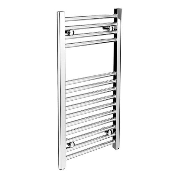 Cassellie York Straight Heated Towel Rail - 1000mm x 500mm