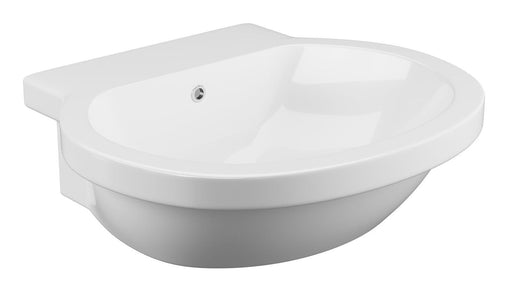 Cassellie Wharfe Semi Recessed Basin 540mm Wide - 0 Tap Hole