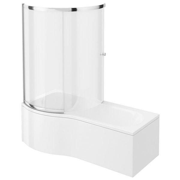 Cassellie Tempest P and L-Shaped Bath End Panel - 700mm Wide - White
