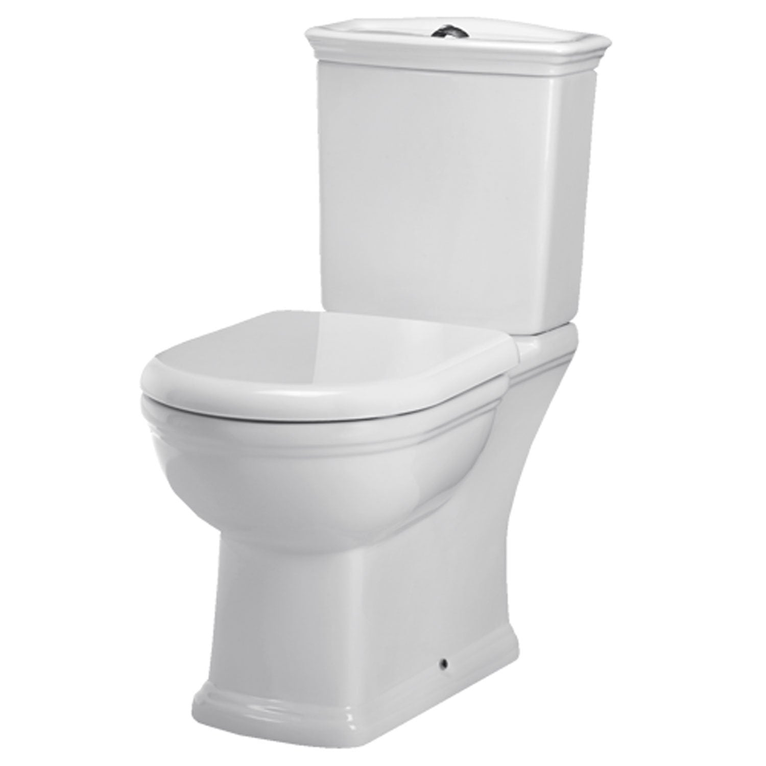 RAK Washington Full Access WC Pack with Soft Close Seat 360mm Wide - White