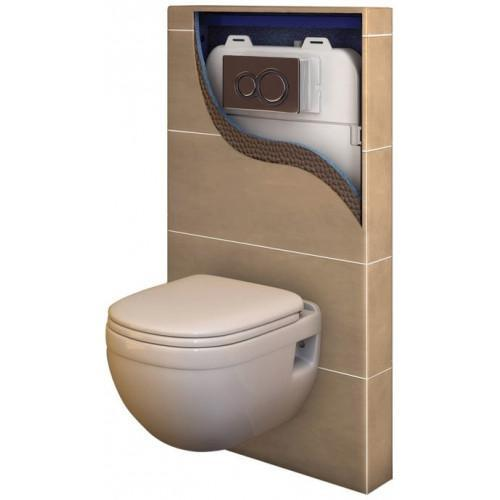 Abacus Easi Plan Slimline WC Frame Tileable Box