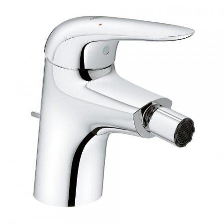 Grohe Eurostyle Solid Bidet Mixer & Pop-Up Waste, S-Size 23720003