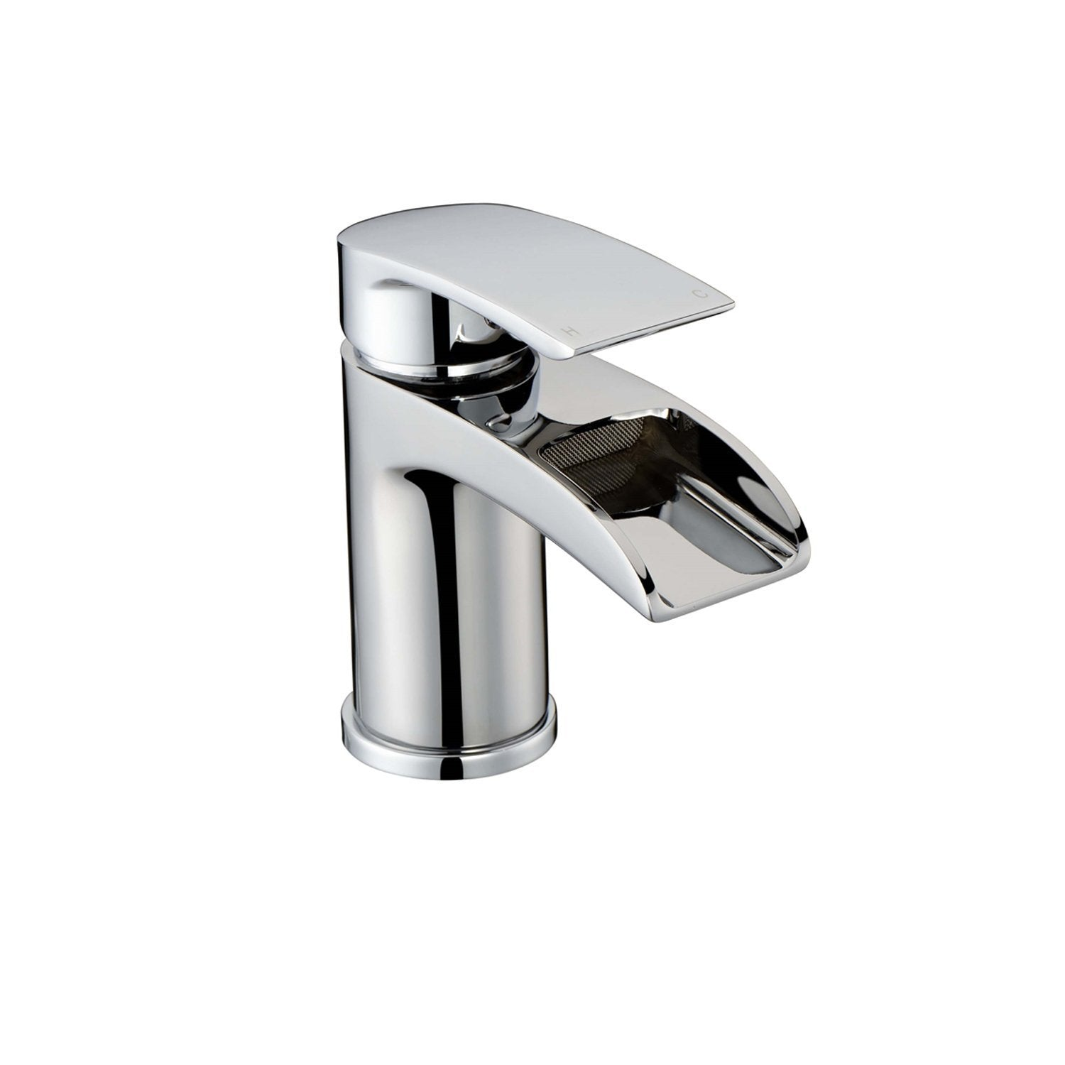 RAK Art Waterfall Curve Mono Basin Mixer Tap - Chrome