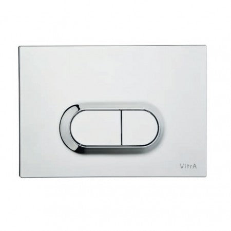 Vitra Loop O Dual Flush Plate (Stainless Steel)