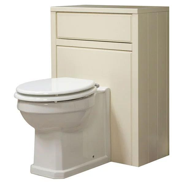 Cassellie Chartwell WC Unit - 600mm Wide - Vanilla