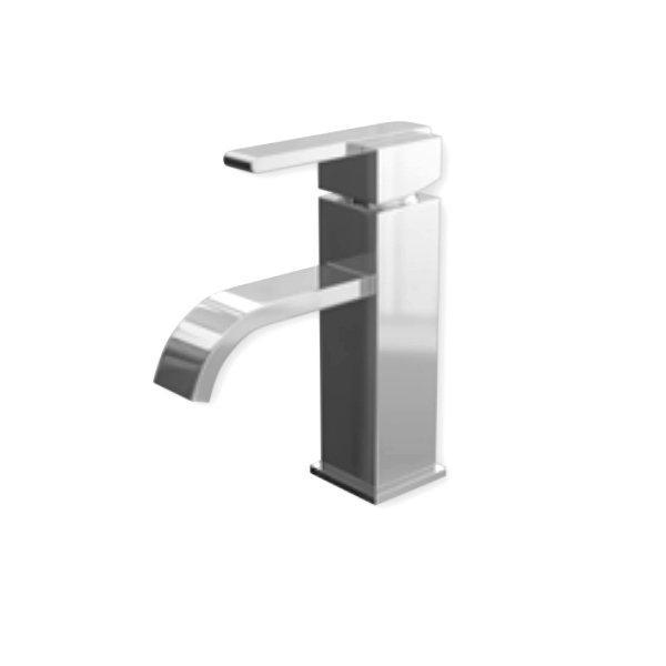 Cassellie Epic Mono Basin Mixer Tap Deck Mounted with Click Clack Waste - Chrome