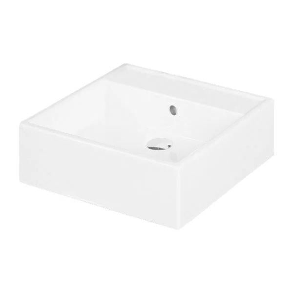 RAK Nova 460mm Sit on Basin - 0 Tap Hole - White