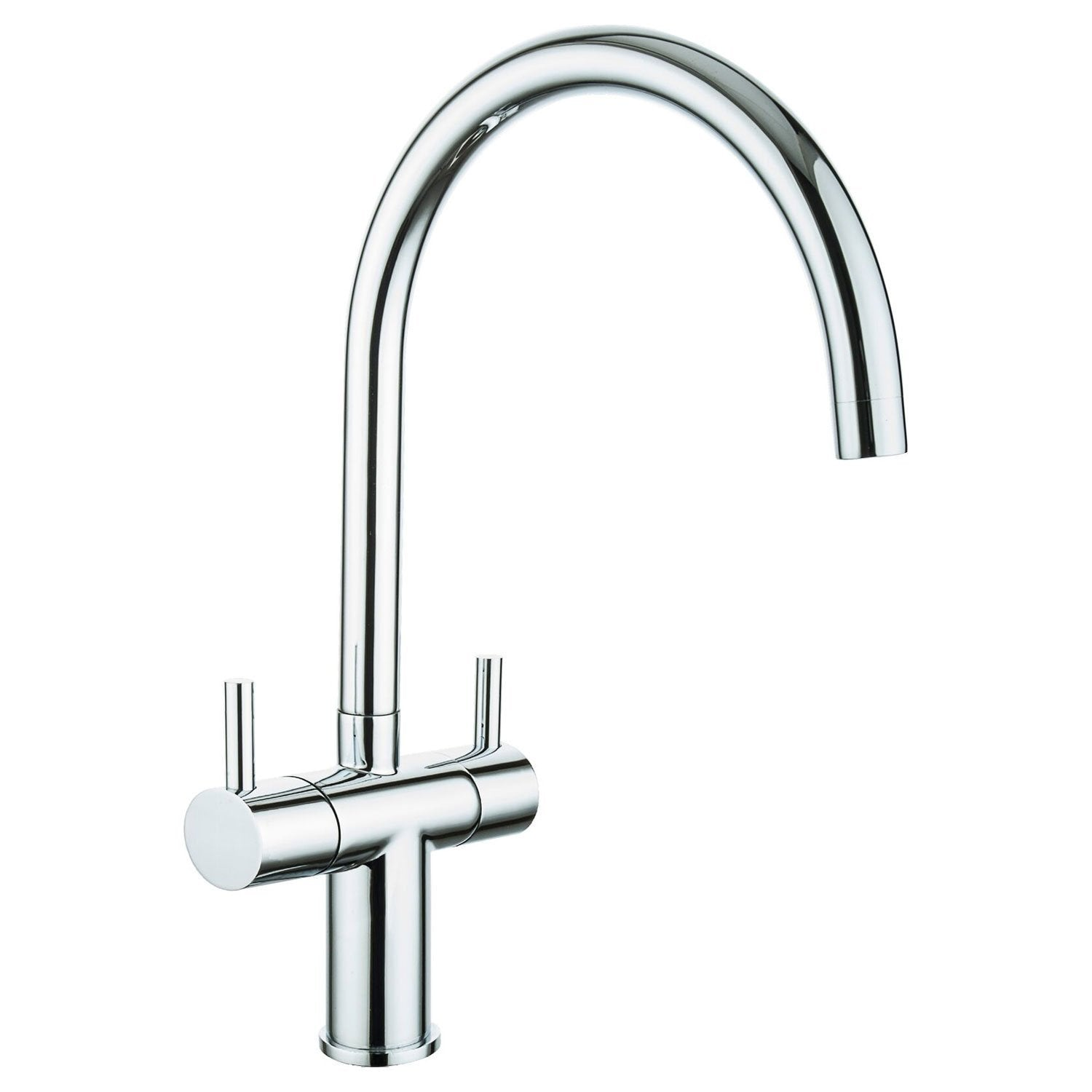 Cassellie Classic Mono Kitchen Sink Mixer Tap - Chrome