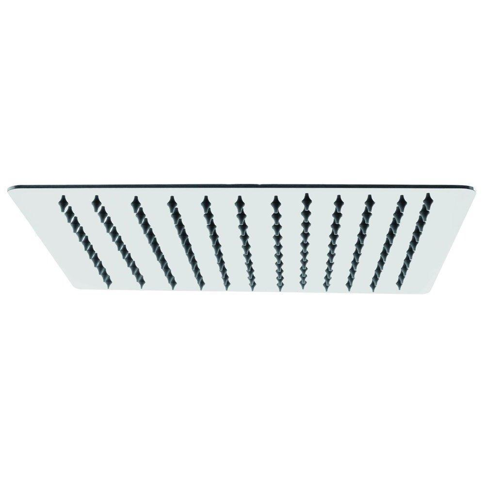 Cassellie Square Shower Head - 300mm Wide - Chrome