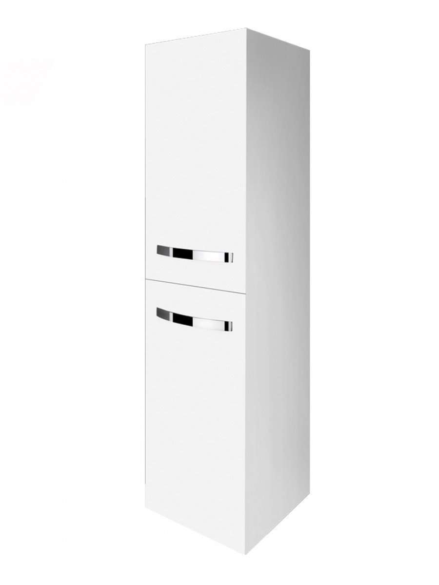 RAK Tall Storage Unit 1570 x 400mm - Gloss White