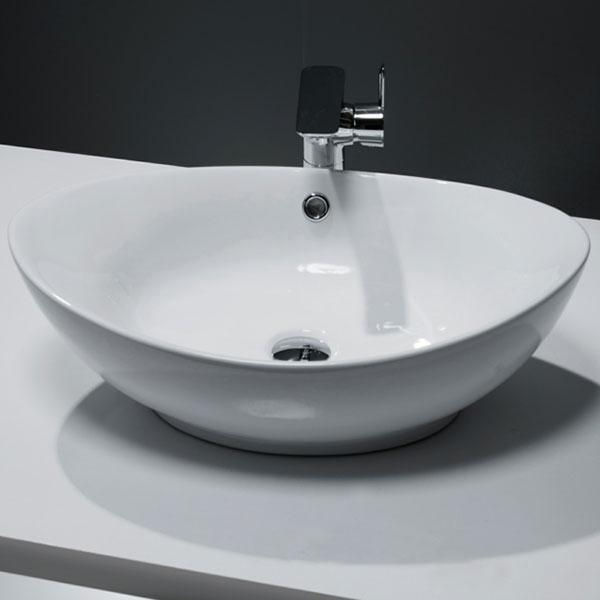 Cassellie Vessel Oval Counter Top Basin - 580mm Wide - 1 Tap Hole