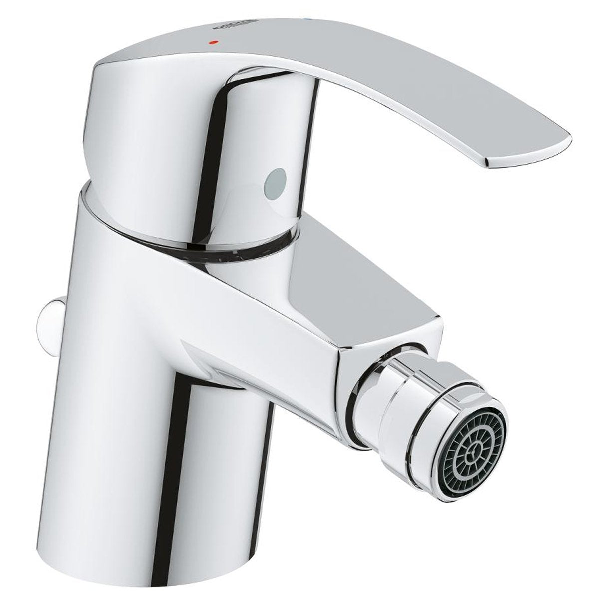Grohe Eurosmart S-Size 1/2 inch Bidet Mixer Tap with Pop-up Waste - Chrome