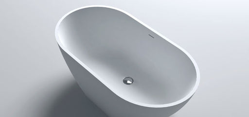Waters Baths Mist 1535mm x 800mm Double Ended Small Freestanding Stone Bath Elements