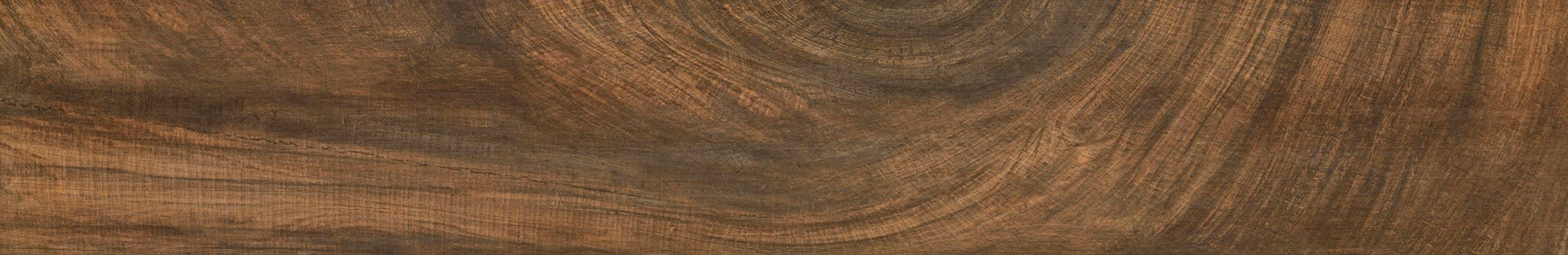 RAK Tiles -  Natural Circle Wood Brown - 195x1200mm