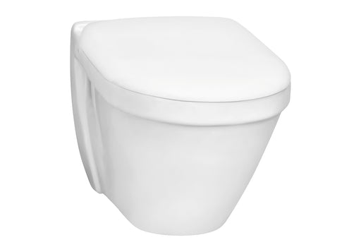 Vitra S50 Wall Hung Toilet Pan, Short Projection, White