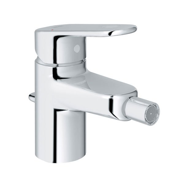 Grohe Europlus Mono Bidet Mixer Tap Single Handle - Chrome