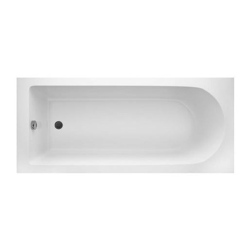Cassellie Grange Round Style Single Ended Bath - 1700mm x 750mm - White