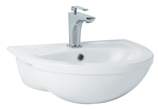 CLEARANCE Phoenix Emma Semi Recessed Basin 520mm x 420mm - EM026