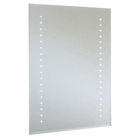 RAK Rubens Rectangular Bathroom Mirror 800mm H x 600mm W Illuminated