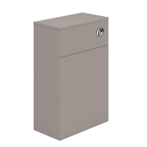 Essential NEVADA WC Unit, 500mm Wide x 200mm Deep, Cashmere