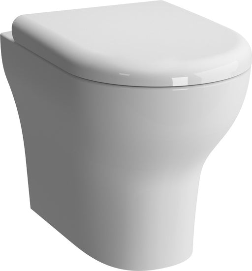 Vitra Zentrum Back to Wall WC Pan - Pan Only