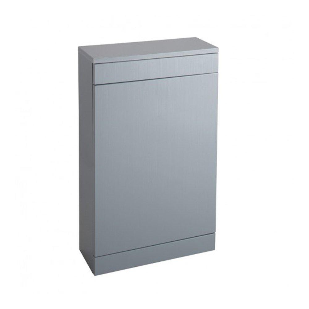 Cassellie Idon WC Unit - 500mm Wide - Gloss Grey