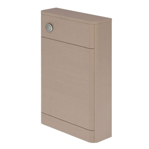 Essential VERMONT WC Unit, 550mm Wide x 205mm Deep, Light Grey