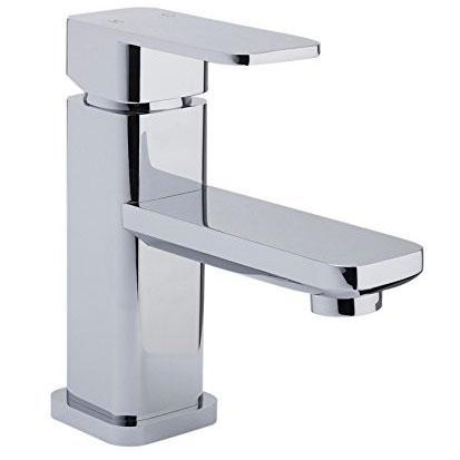 RAK Square Mini Mono Basin Mixer Tap Single Handle - Chrome