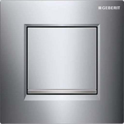 Geberit Sigma30 Urinal Flush Pneumatic Gloss/Matt/Gloss Chrome