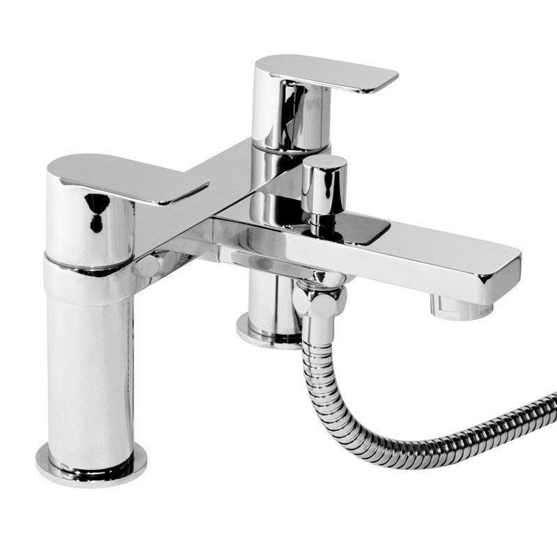 Cassellie Wind Bath Shower Mixer Tap - Chrome
