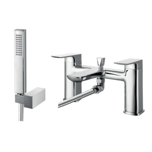 RAK Summit Bath Shower Mixer with Shower Head and Hose - Chrome