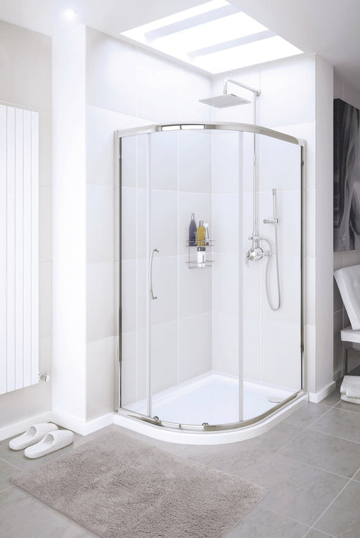 Lakes Classic Offset Quadrant Shower Enclosure 900x760mm