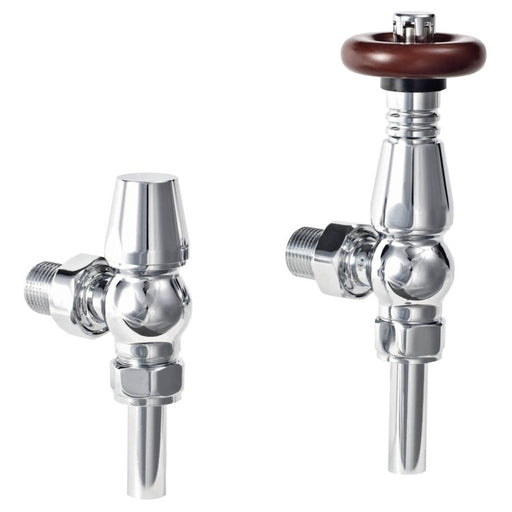CLEARANCE Phoenix Oxford Thermostatic Angled Valves rav020