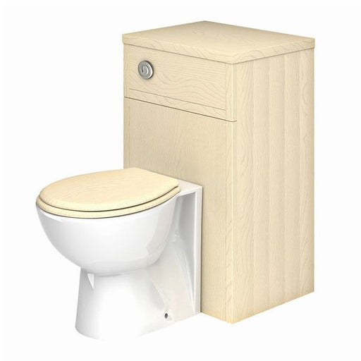 Essential HAMPSHIRE WC Unit, 500mm Wide x 390mm Deep, Mussel Ash