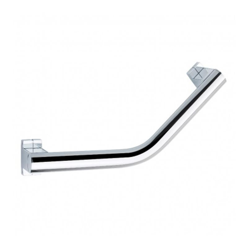 Abacus Arsis Angled Grab Bar 200mm - Bright Anodised