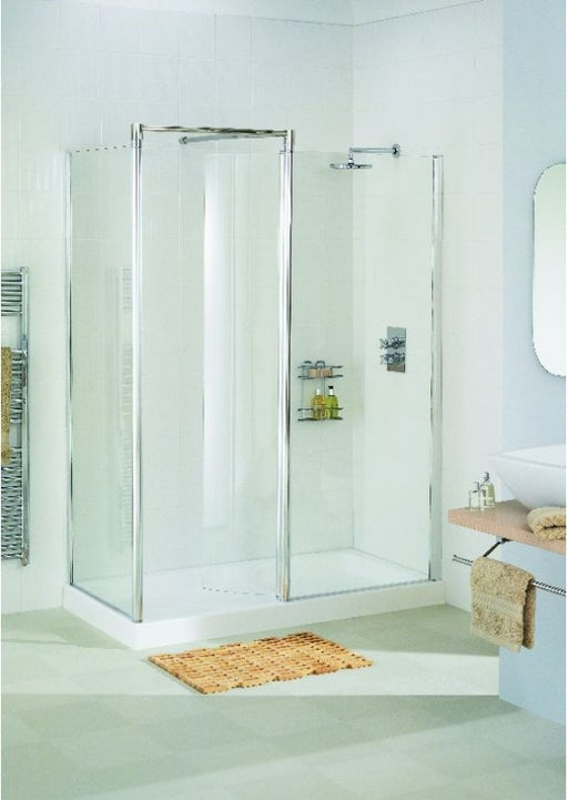 Lakes Classic - Walk in Side Panel - 900mm - White