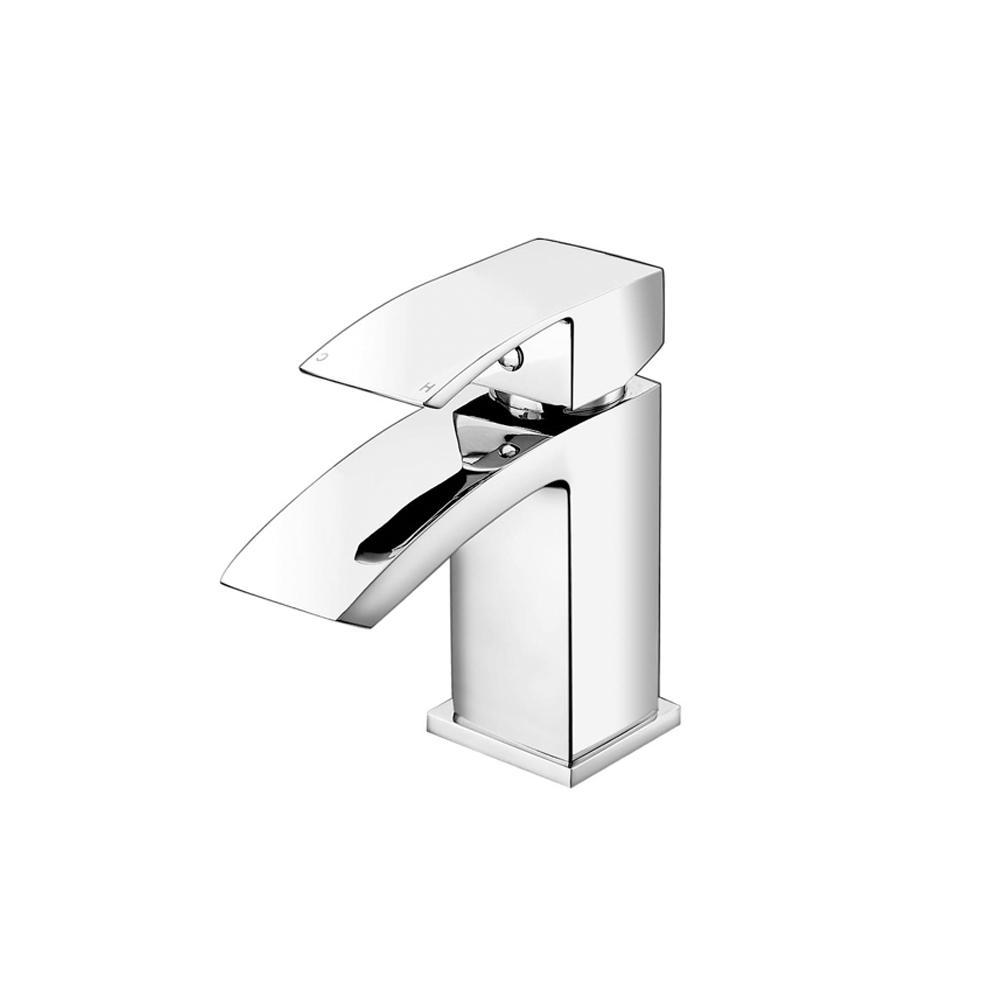 RAK Metropolitan Mini Mono Basin Mixer Tap - Chrome