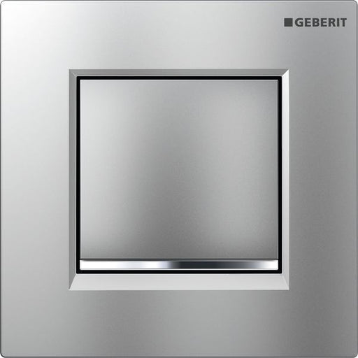 Geberit Sigma30 Urinal Flush Pneumatic Matt/Gloss/Matt Chrome