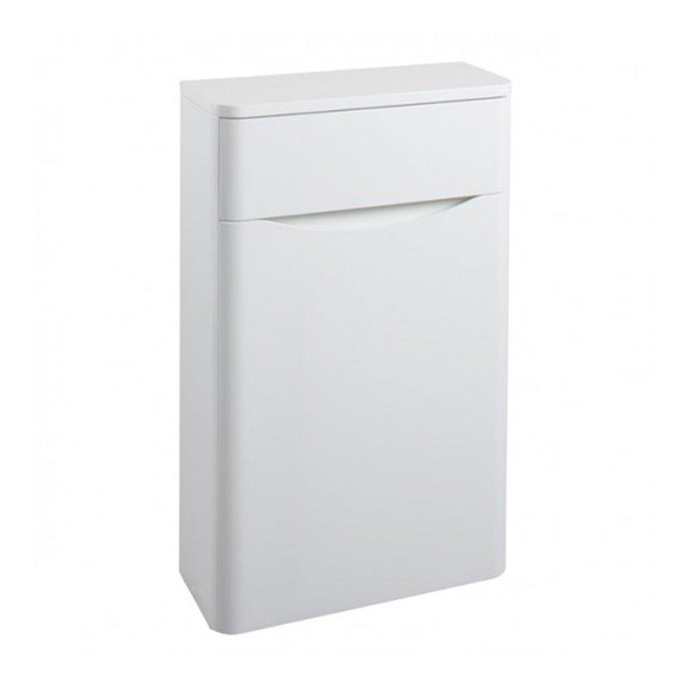 Cassellie Bali WC Unit - 500mm Wide - Gloss White