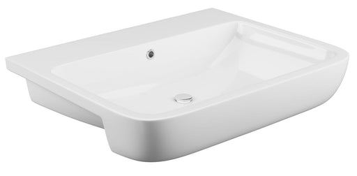Cassellie Rivelin Semi Recessed Basin 555mm Wide - 0 Tap Hole