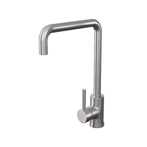 Cassellie Classic Single Lever Mono Kitchen Sink Mixer Tap - Brushed