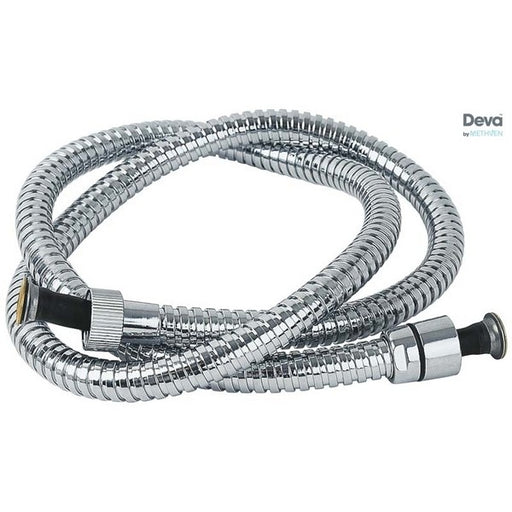 Deva HOS1.5CPS01 Chrome 1500 mm Flexible Shower Hose with Standard Bore