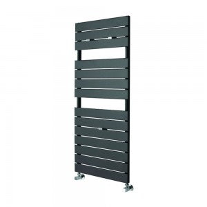 Essential LIBRA Towel Warmer, Flat Panels, 1210mm High x 500mm Wide, Anthracite