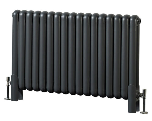 CLEARANCE Phoenix Lilly Anthracite Designer Radiator 400mm x 1032mm - RA030