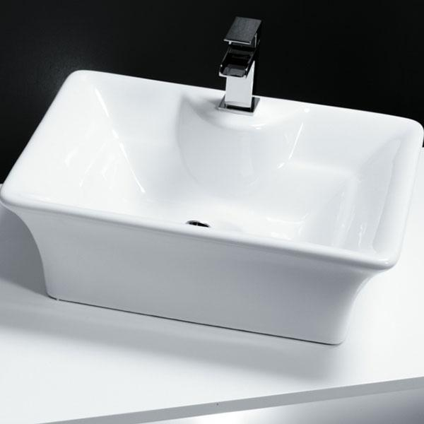 Cassellie Vessel Counter Top Basin - 490mm Wide - 1 Tap Hole