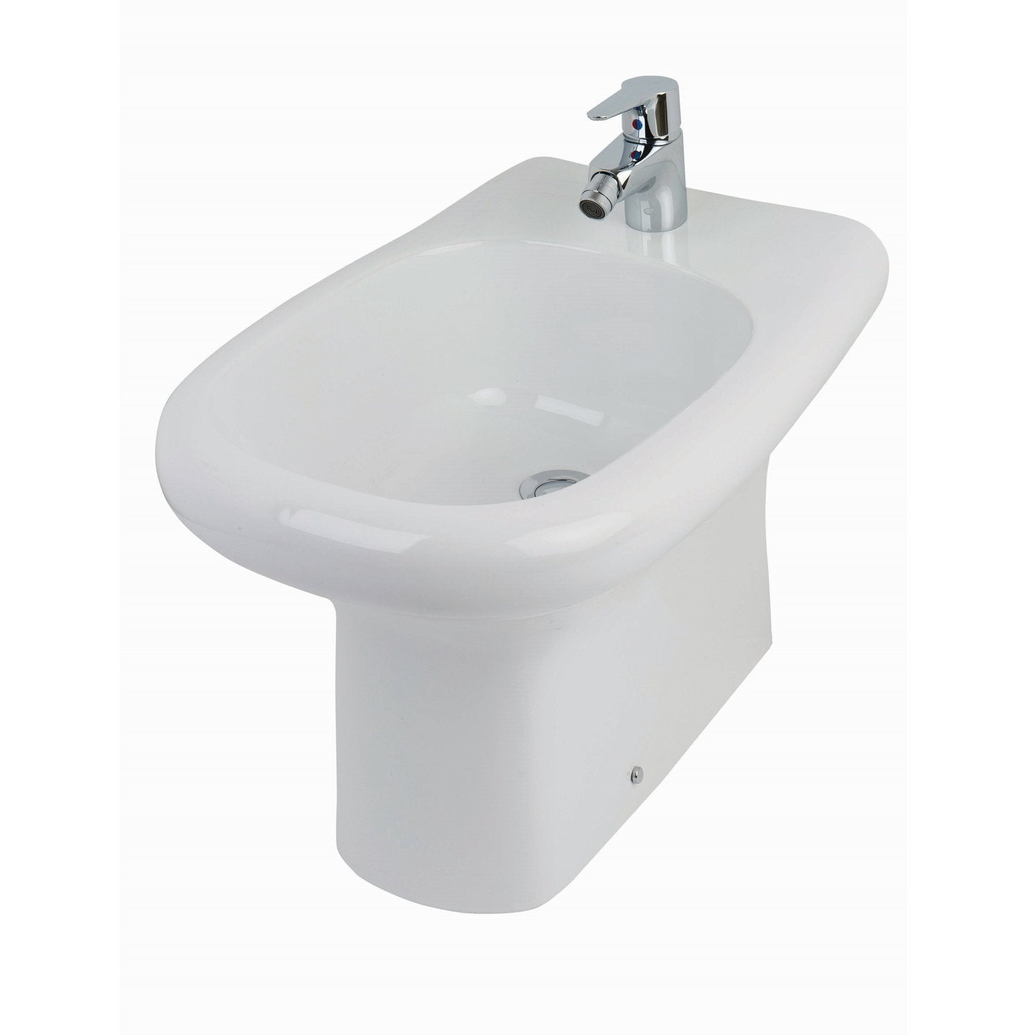 RAK Compact Back to Wall Bidet 510mm Projection 1 Tap Hole