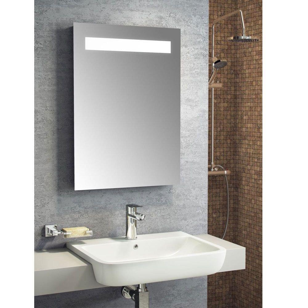 Cassellie LED Bathroom Mirror 500mm W x 700mm H with De-mister Pad