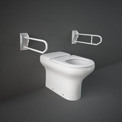 RAK Compact Special Needs Extended Back to Wall WC Pan 700mm Projection