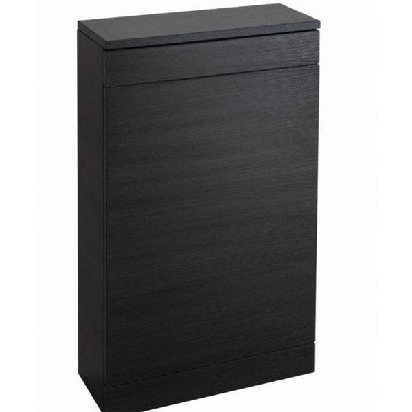 Cassellie Idon WC Unit - 500mm Wide - Black